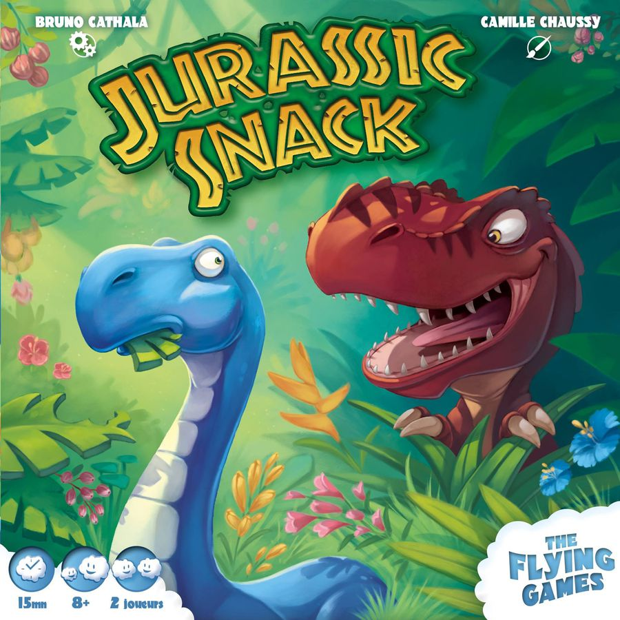 Jurassic Snack Game Age 8 +