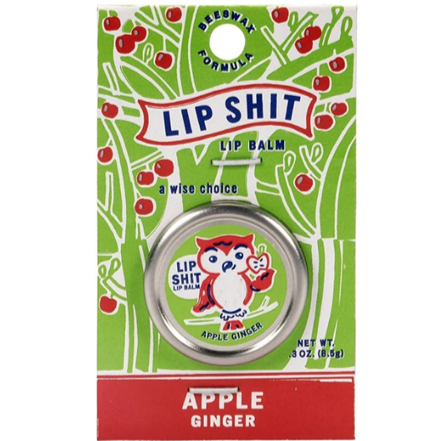 Lip Shit Apple Ginger Lip Balm