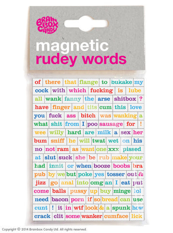 Magnetic Rudey Words