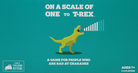 On A Scale of One to T Rex Game