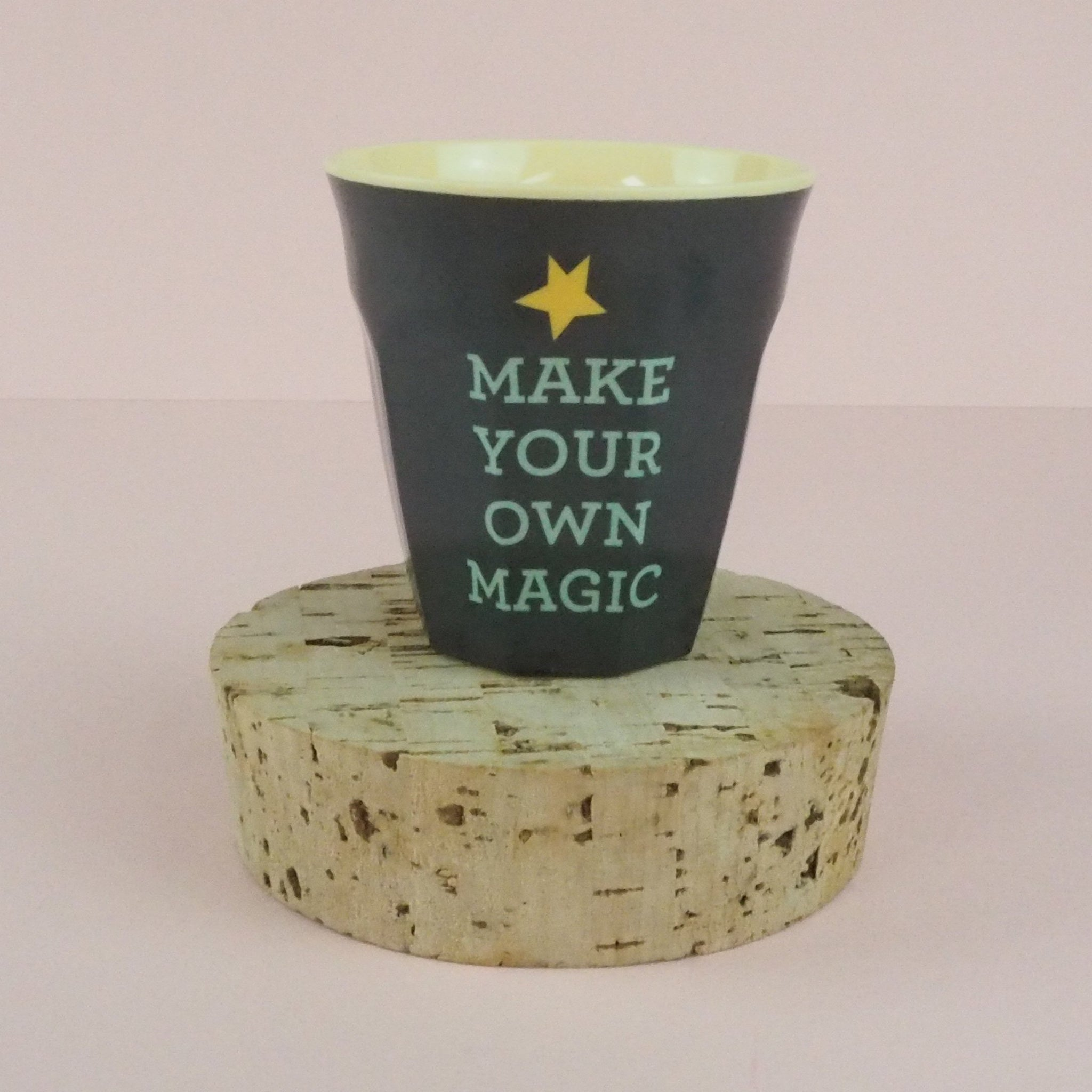 Rice Melamine Kids Cup Make Your Own Magic
