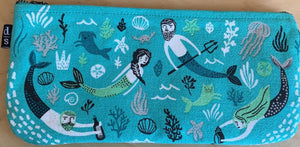 Mermaid/Men Provision Pouch/ Make Up Bag