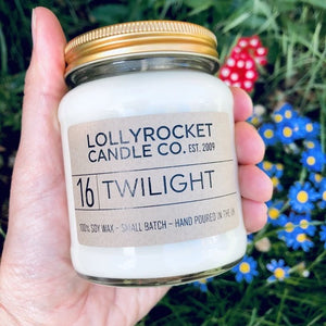 Twilight Soy Wax Candle