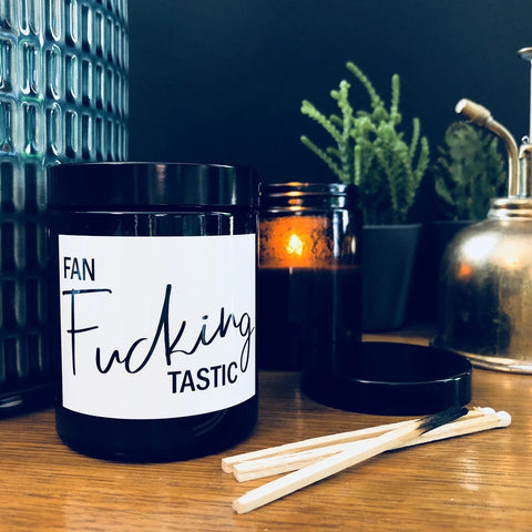 Fan Fucking Tastic Wanderlust Scented Soy Candle