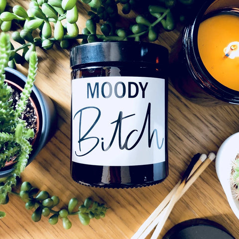 Moody Bitch Twilight Scented Soy Candle