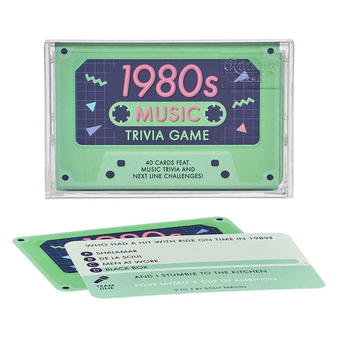 Ridley's Games 1980s Music Trivia Tape Quiz