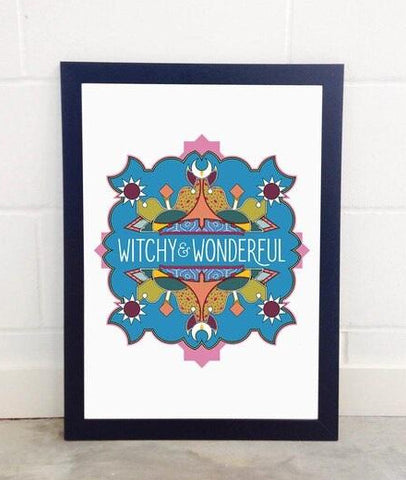 Witchy & Wonderful Art Print