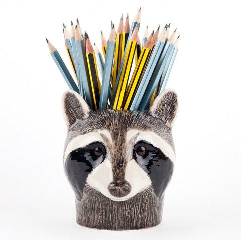 Raccoon Pencil Pot