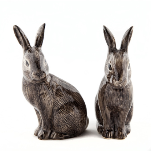 Wild Rabbit Salt and Pepper Set