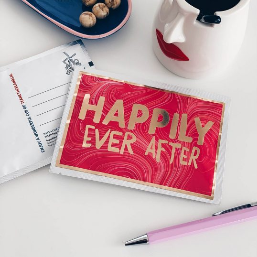 Happily Ever After Tea Postcard