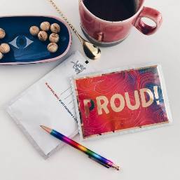 Proud! Tea Postcard
