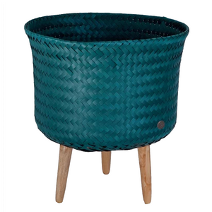 Up Mid Basket/ Plant Pot Blue/Green