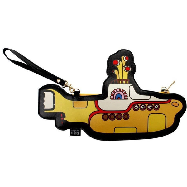 The Beatles Yellow Submarine Shaped Shoulder Bag/ Clutch Bag