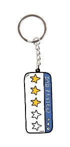 Dad Review Keyring