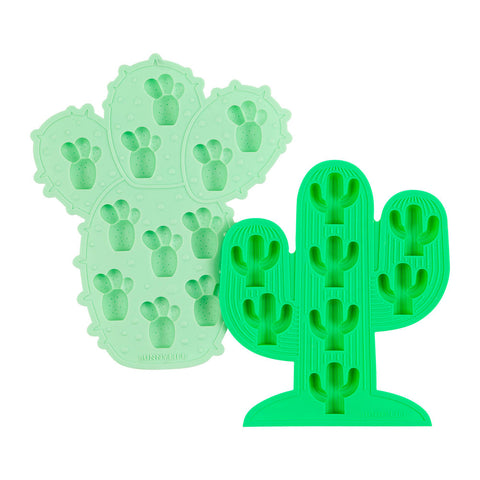 Sunnylife Cactus Ice Cube Tray Set of 2
