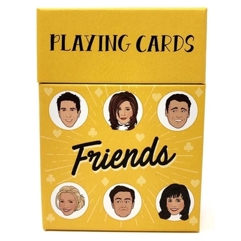 Friends Playing Cards
