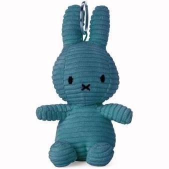 Aviator Blue Corduroy Miffy Keyring