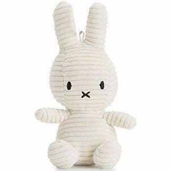 Off White Corduroy Miffy Keyring