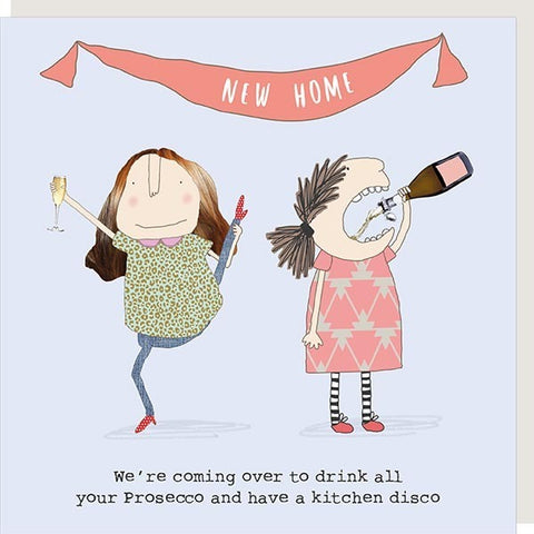 New Home Drink All Your Prosecco Card