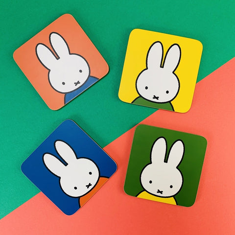 Miffy Face Coasters
