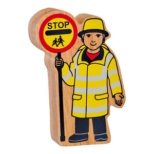 Lanka Kade Wooden Toy -  Natural Lollipop Person