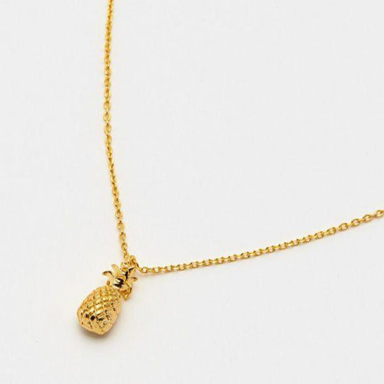 Pineapple Gold Plated Necklace