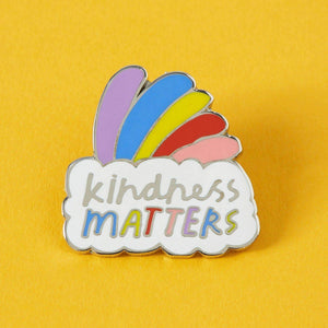 Kindness Matters Enamel Pin
