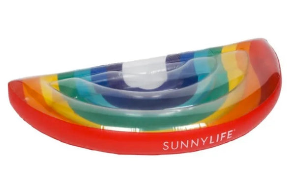 Luxe Large Lie-On Rainbow Float