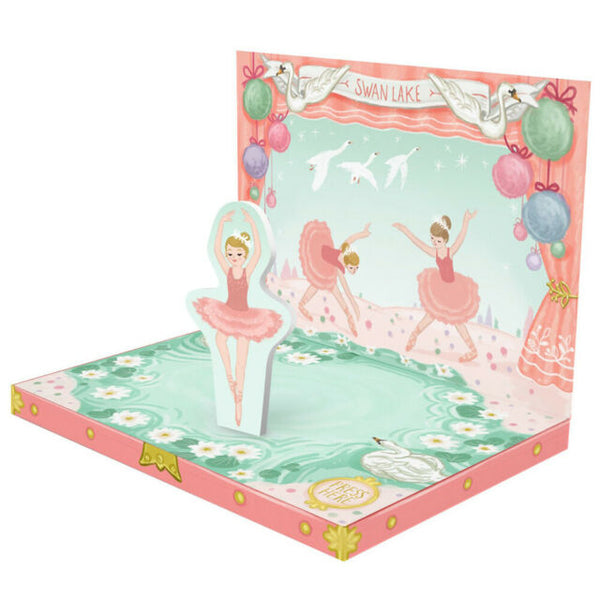 Ballerina Dream Music Box Card