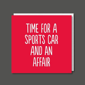 Sports Car And Affair - Buddy Fernandez Card