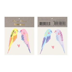 Budgie Tattoos