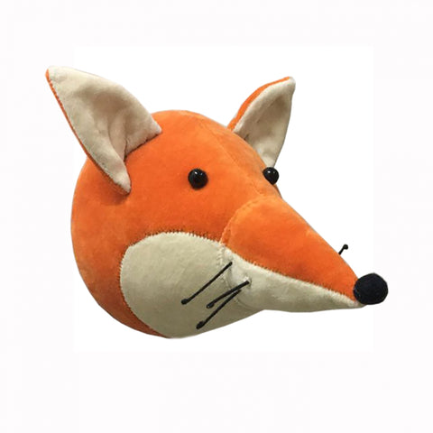 Fiona Walker Velvet Fox Head