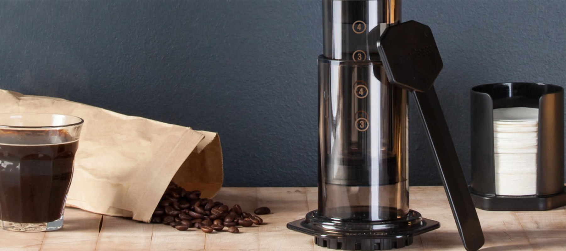 Aeropress Coffee Makers available online at The Coffee Collective NZ