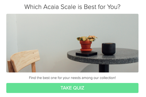 Choosing the right Acaia Scales