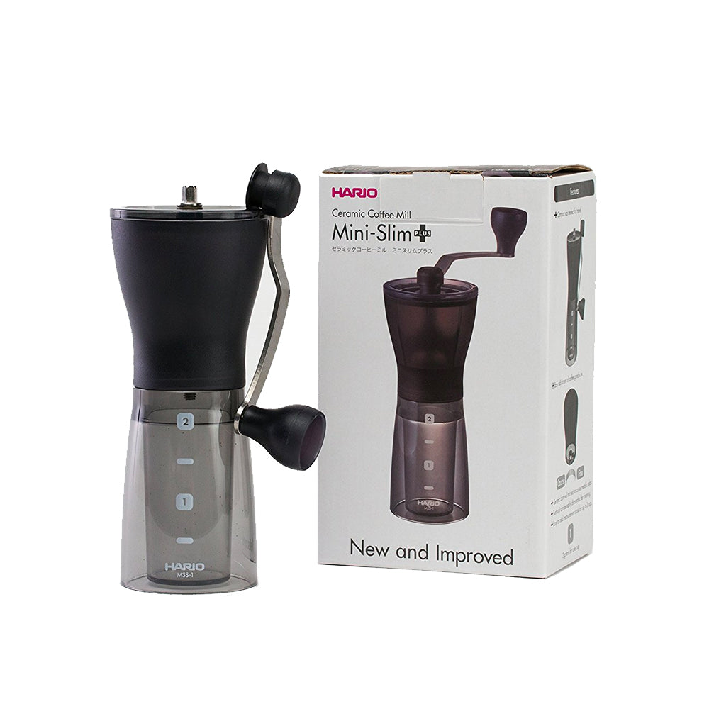 Hario Ceramic Coffee Grinder Skerton Slim Plus