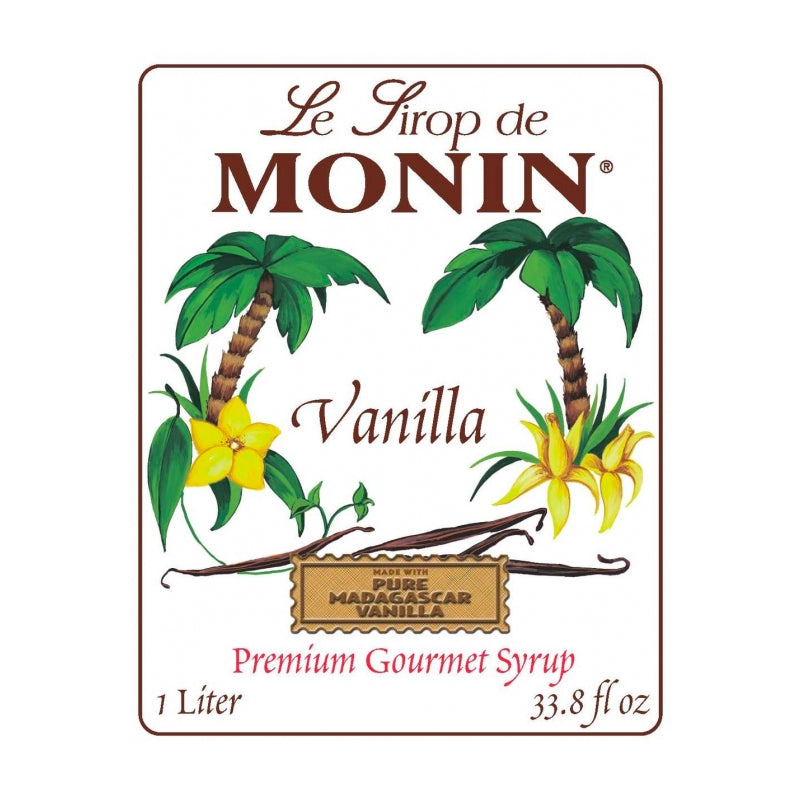 Monin Vanilla Syrup | The Coffee Collective NZ
