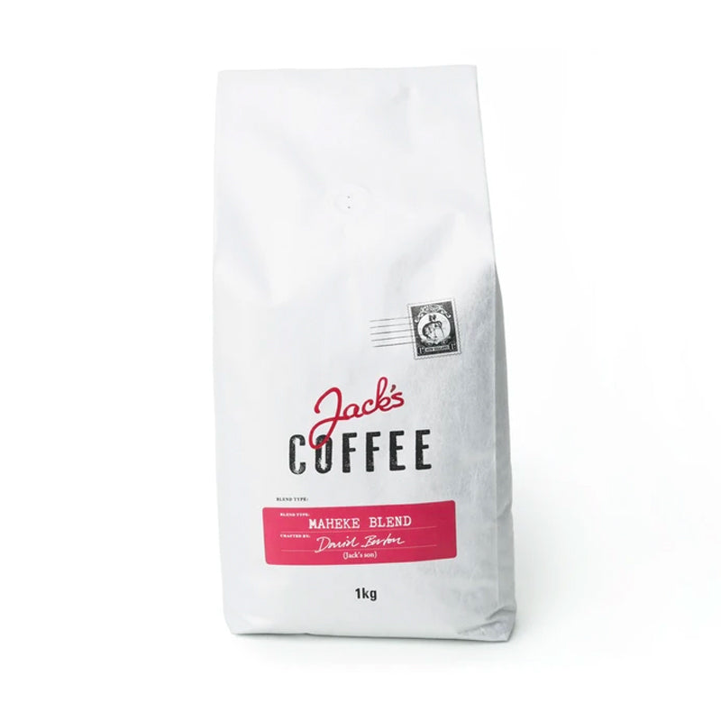 Jack's Coffee Maheke Blend at The Coffee Collective NZ