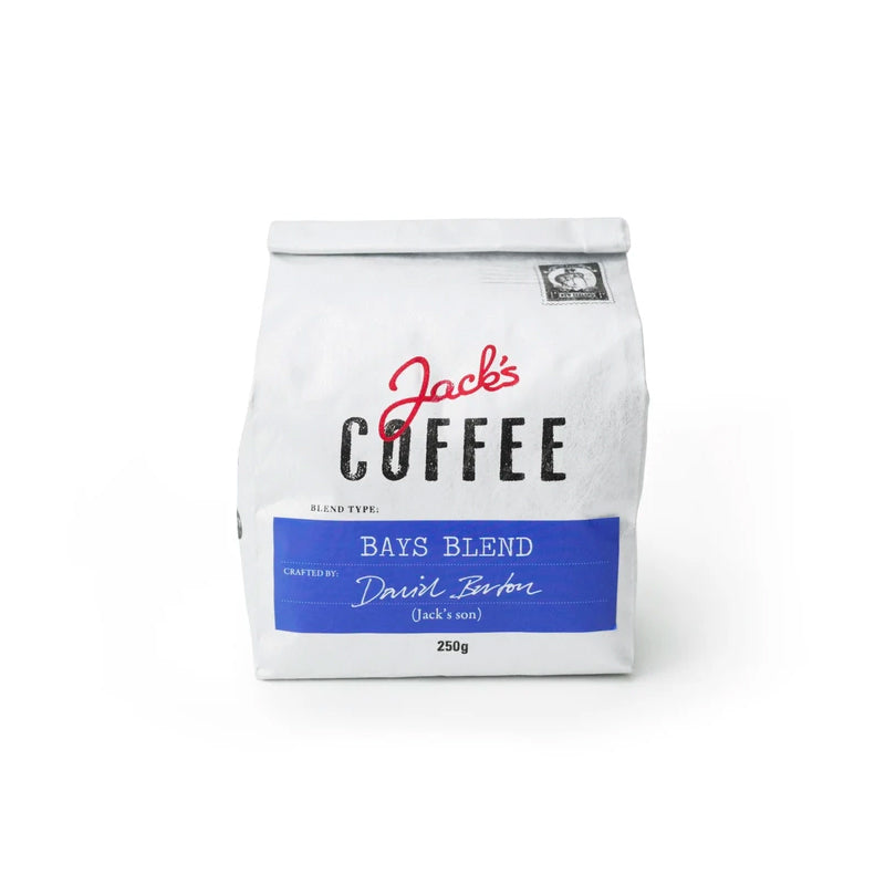 Jack's coffee Bays Blend at The Coffee Collective NZ