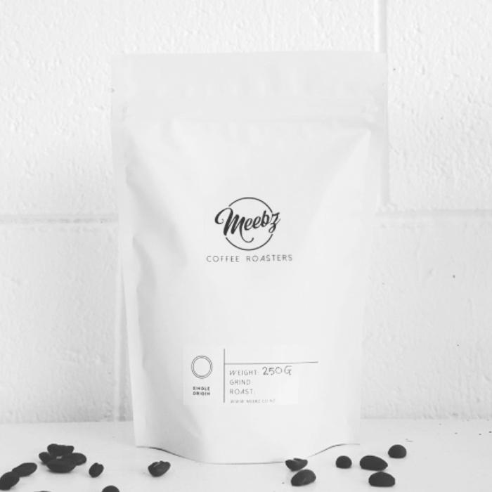 Meebz Blend at The Coffee Collective NZ