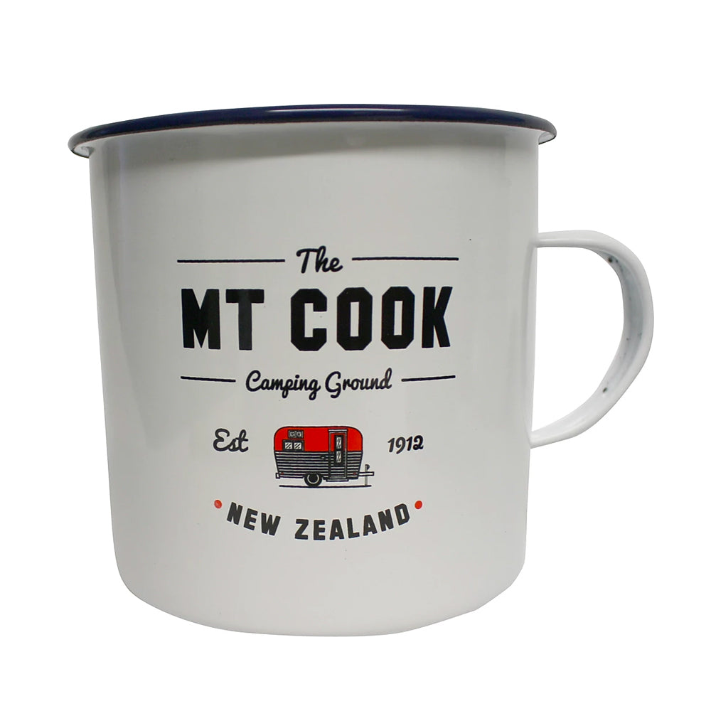 Moana Road Enamel Mug - Mt Cook