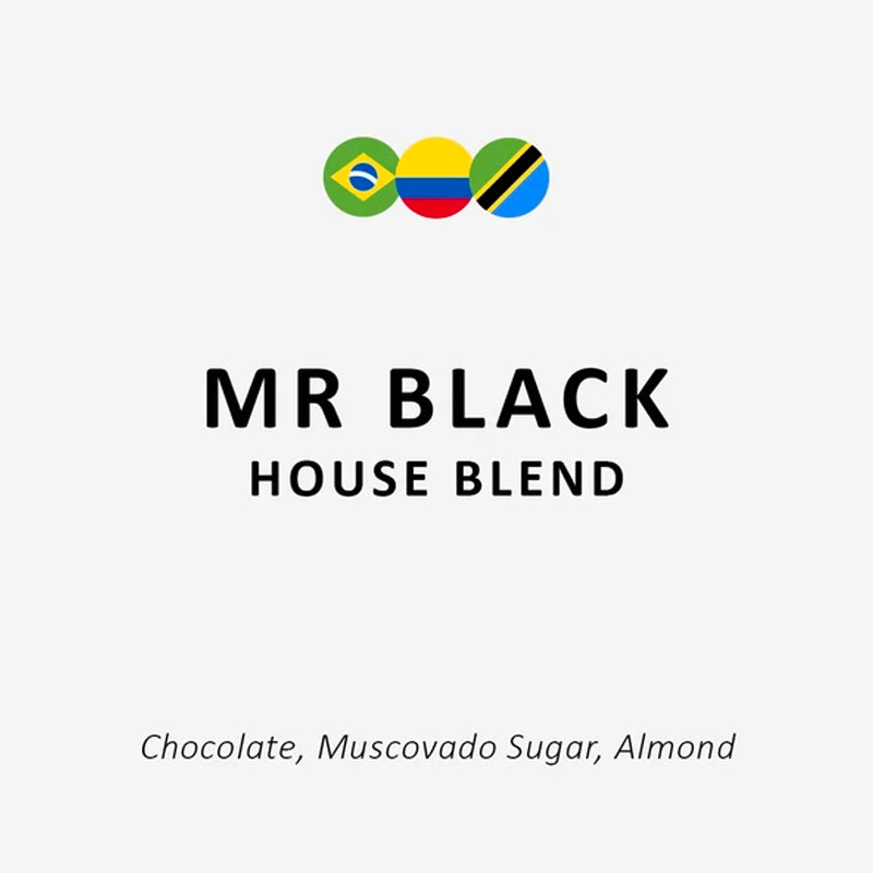 Espresso Workshop Mr Black House Blend at The Coffee Collective NZ
