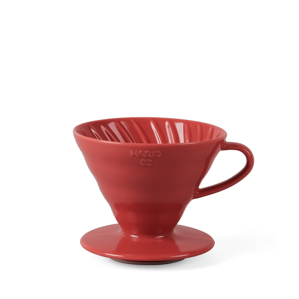 Hario V60 Coffee Dripper - 2 Cup Ceramic Red