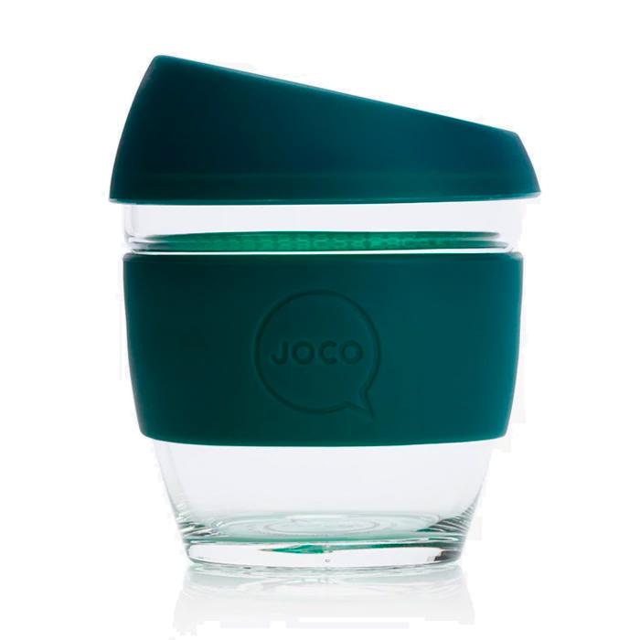 Deep Teal Joco Coffee Cup