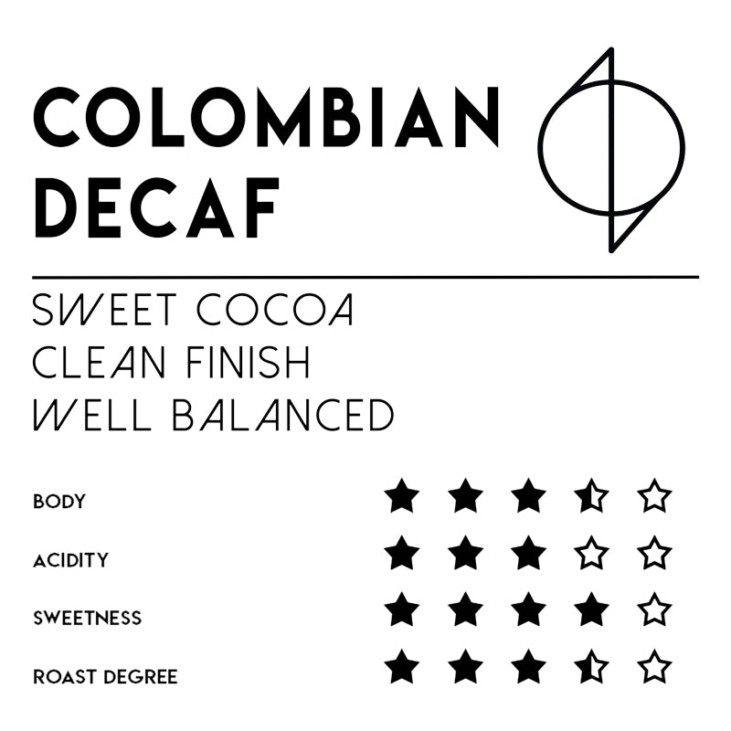 Meebz Coffee Colombian - Decaf