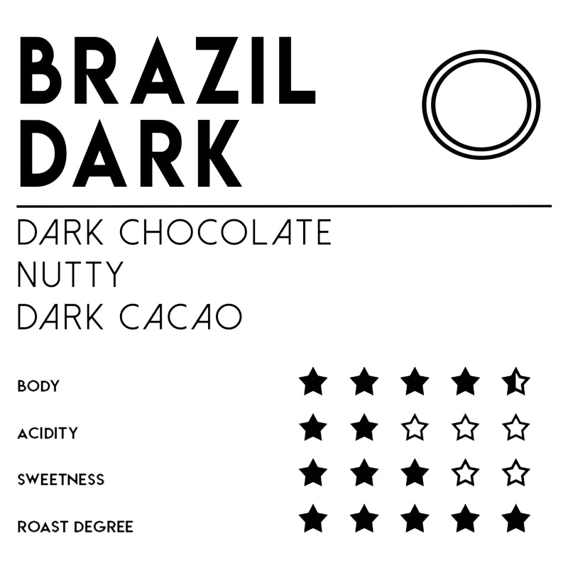 Meebz Single Origin Coffee Brazil Dark