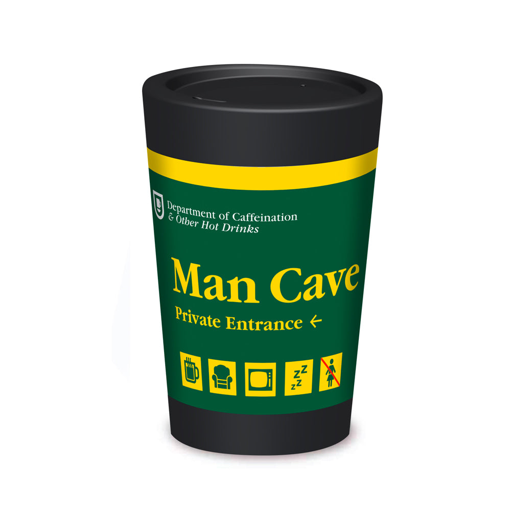 Cuppa Coffee Cup 12oz - Man Cave