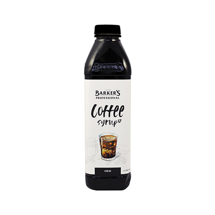 Barker's Coffee Syrup 1 Litre - Chai