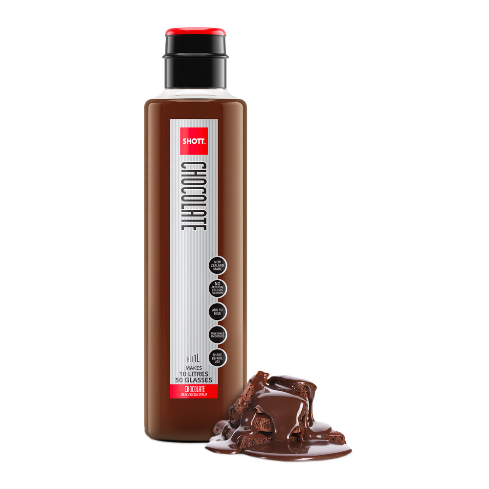 Shott Coffee Syrup 1 Litre - Chocolate