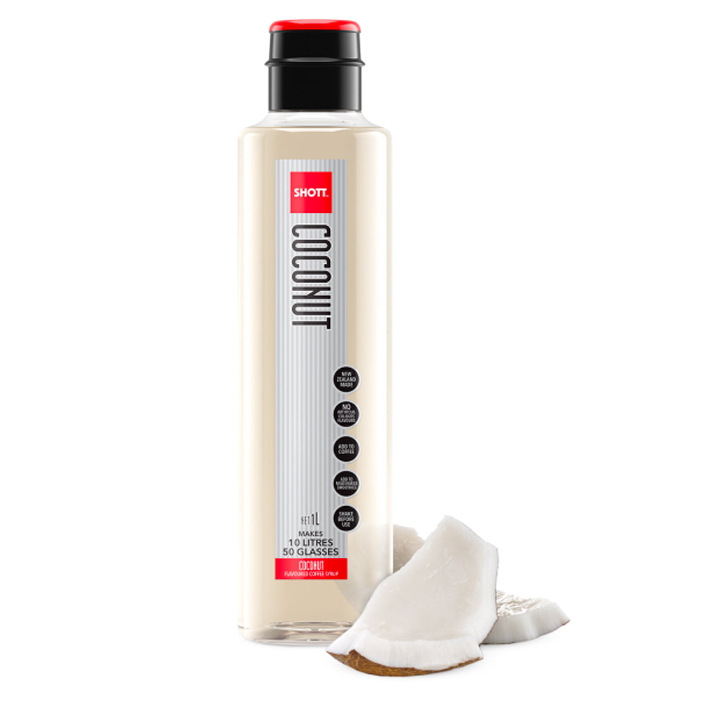 Shott Coffee Syrup 1 Litre - Coconut