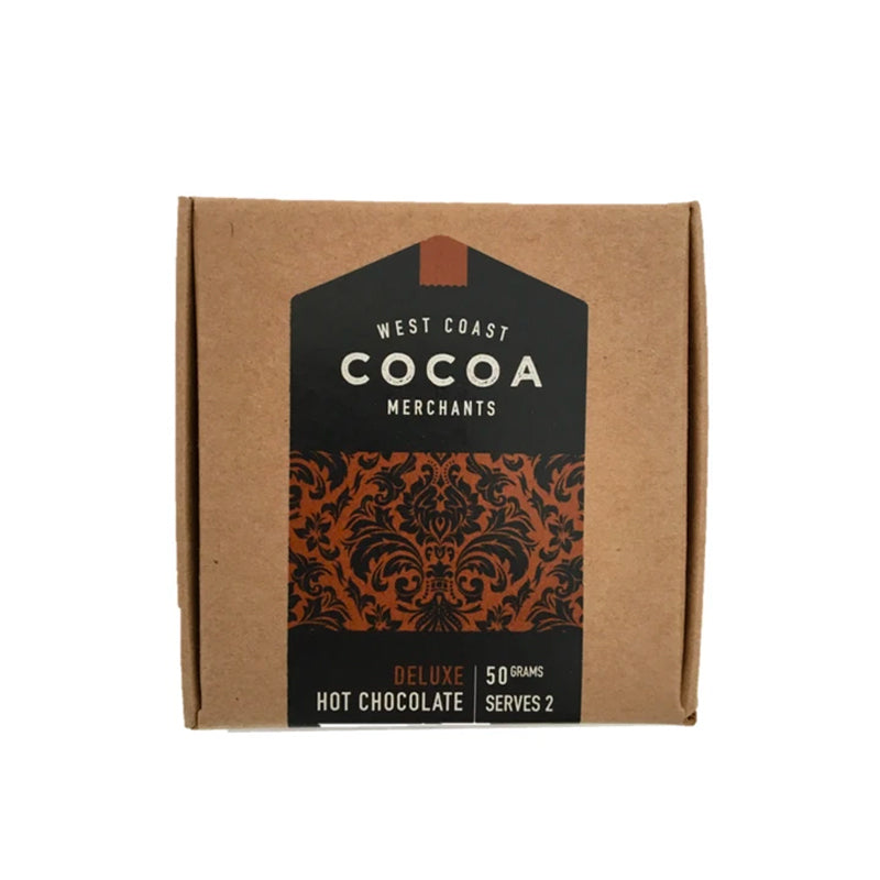 West Coast Cocoa Deluxe Hot Chocolate 50g